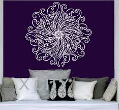 online get cheap geometric wall decals aliexpress alibaba group wall decal mandala ornament geometric indian moroccan pattern namaste flower yoga vinyl sticker mural art bedroom decor
