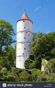 Baden Schwaben Weißer Turm Biberach An Der Riß Oberschwaben Schwaben Stock