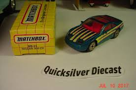matchbox nissan 300zx matchbox nissan 300 zx turbo teal 1993 61 box nissan teal and box