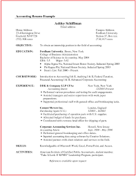 resume format for accountant documents free sle of resume best of accountant resume sle canada site