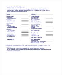 9 balance sheet templates free samples examples format