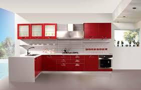 Red Kitchen Set - kitchen exclusive kitchen set for practical kitchen remodeling