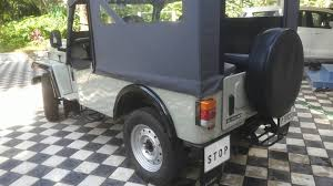 jeep modified classic 4x4 mahindra major jeep youtube