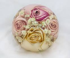 wedding flowers paperweight flower and wedding bouquet preservation flower preservation workshop