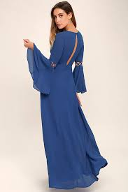 maxi dresses with sleeves lovely denim blue dress sleeve dress maxi dress cutout