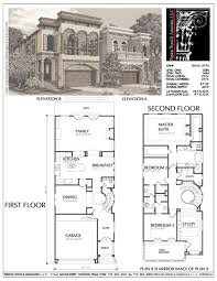 Walkout Basement Plans by 100 Narrow Lot House Plans With Basement Best 25 Cottage