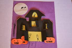 haunted house craft for kids home decorating interior design