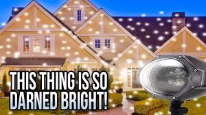 star bright christmas light projector laser christmas lights outdoor holiday projectors youtube
