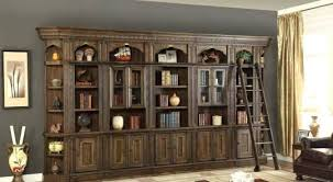 bookcase library bookcase wall unit with ladder have you ever