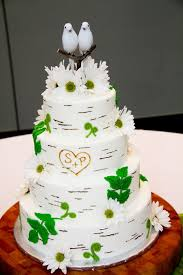dove cake topper wedding cakes pictures wedding cake with birds