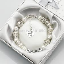 customized baby bracelets online get cheap baby bracelets for with name aliexpress