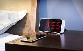 Minimalist Alarm Clock by The Sandman Clock Is A Minimalist Alarm Clock With 4 Usb Charging