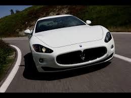 maserati granturismo 2016 white 2008 maserati gran turismo s white front angle speed 1280x960