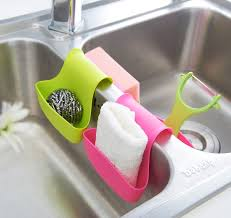 Kitchen Soap Dish Sponge Holder by Bathroom Cute Kitchen Sink Caddy Furnishing Your Best Home