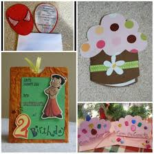 best handmade birthday invitation cards for kids 64 on marriage