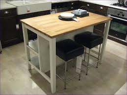 kitchen room movable kitchen island with seating butcher block