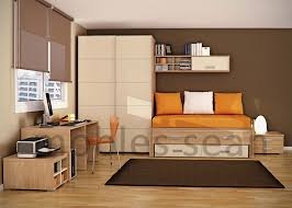 Orange Bedroom Walls Space Saving Designs For Small Kids Rooms