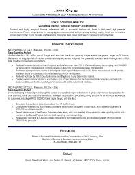 Financial Analyst Resume Example by Sales And Trading Resume Objective