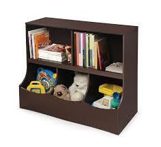 amazon com badger basket multi bin storage cubby espresso baby
