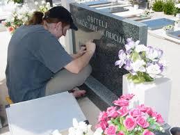 tombstone engraving file engraving a tombstone primosten cemetery croatia jpg