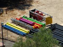 Holiday Inn St Louis Six Flags More Sling Shot Pieces Arrive At Six Flags Magic Mountain The