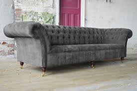 Grey Velvet Sofa by Grey Velvet Sofa Uk Nrtradiant Com