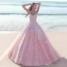 rosa brautkleid brautkleider in farbe rosa größe maßgeschneidert schnitt a linie