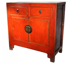 Asian Style File Cabinet Chinese Chinoiserie Lacquer U0026 Mother Of Pearl Inlay Furniture