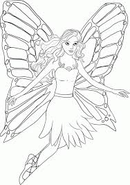 fairy princess coloring pages for kids coloring home