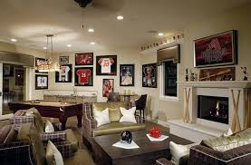Media Room Decor Framed Jerseys From Sports Themed Teen Bedrooms To Sophisticated