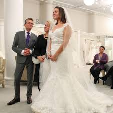 wedding dress cast how to get cast on say yes to the dress popsugar fashion