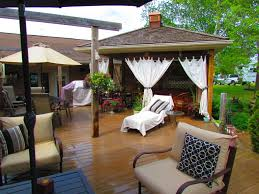 Outdoor Gazebo Curtains by My Backyard Gazebo With Curtains Outdoor Decor Pinterest