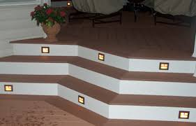 use deck stair lighting illuminate your pathways