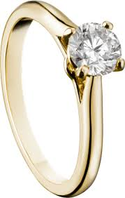 cartier verlobungsring preis crn4235100 1895 solitaire ring yellow gold cartier
