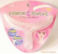 new easy to use eyebrow template stencil shaping tool uk seller