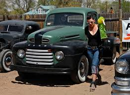 Vintage Ford Pickup Truck - classic cars albuquerque photo flurries