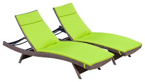 Chaise Lounge Cushion Lakeport Outdoor Adjustable Chaise Lounge Chairs W Colored