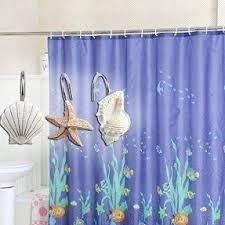 Best Shower Curtain Hooks Blue Brown Shower Curtain Foter