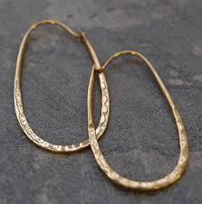 oval hoop earrings sterling silver oval hoop earrings by otis jaxon silver jewellery