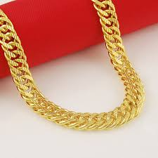 style gold necklace images High quality new style fashion 24k gold cool men jewelry thick jpg