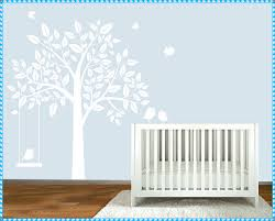 baby wall murals and decals home decorations ideas image of wall mural decals nursery