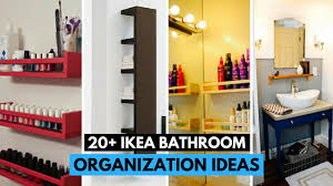 bathroom organization ideas 20 brilliant ikea bathroom organization ideas youtube