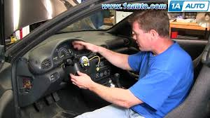 how to install fix turn signal headlight switch chevy cavalier
