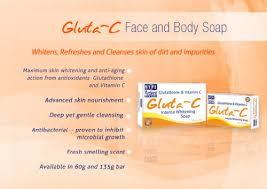 Gluta Fresh gluta c whitening soap with glutathione vitamin c 135g