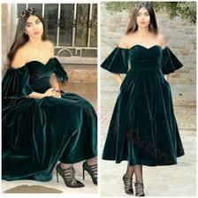 black velvet dress off shoulder long canada best selling black