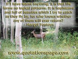 haphazard quote details margot fonteyn if i have learnt the