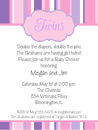twin baby shower invitations twin baby shower