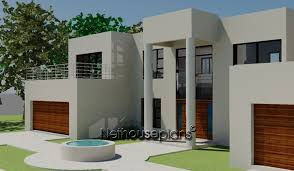 modern style house plans 4 bed room modern style house plan nethouseplansnethouseplans