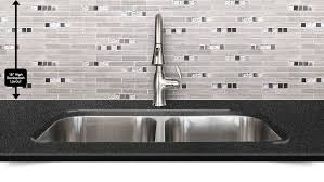 Gray Subway Marble Glass Metal Backsplash Backsplashcom - Metal backsplash
