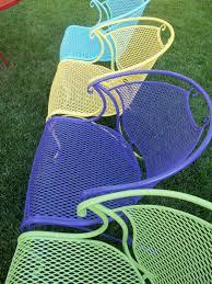 buy retro metal lawn furniture here bellaire metal lawn chair